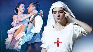 Медведеву целовали, звали замуж, облачали в ночнушку и костюм медсестры. Главные фото шоу «Анна Каренина»