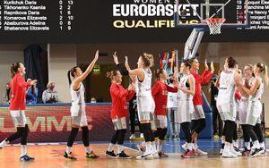 Женская сборная России разгромила Швейцарию с разницей в 56 очков и вышла на чемпионат Европы