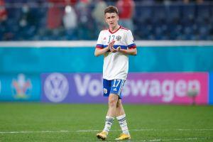 Футболист сборной России Головин стал лучшим среди всех игроков Евро-2020 по преодоленной дистанции в 1-м туре