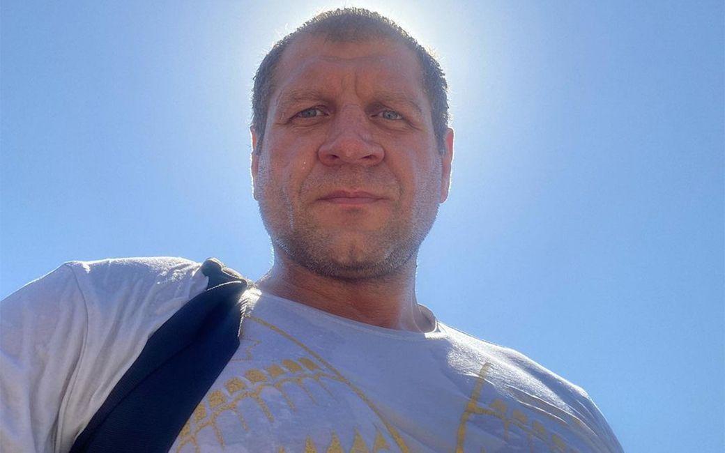 А. Емельяненко поддержал Моргенштерна, назвавшего бойцов и рэперов коллегами по цирку
