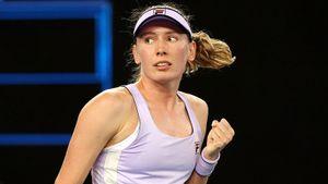 Лучшая теннисистка России Александрова 2 года подряд выносит чешку Крейчикову. Теперь ее ждет топ-1 в мире Барти