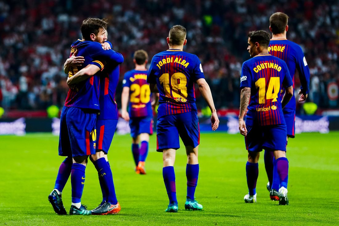 «Барселона» в30-й раз вистории завоевала Кубок Испании