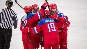 Русские юниоры начали новый хоккейный сезон с победы над Финляндией! У главной звезды Мичкова— 4 очка