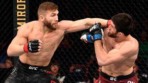 Нокаутер из Дагестана одержит 5-ю подряд победу в UFC. Прогноз на реванш Анкалаев — Куцелаба