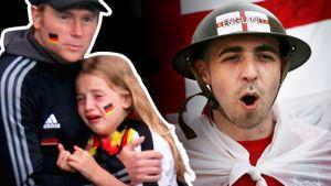 «Плачь, маленькая нацистка». Англичане затравили маленькую болельщицу сборной Германии: чем кончилась эта история
