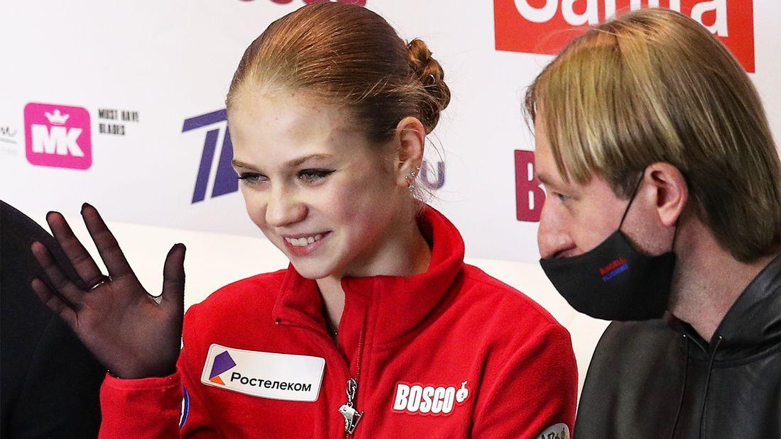 Трусова - о целях на новый сезон: Отобраться на Олимпиаду, прыгнуть пять четверных и скрутить аксель в короткой