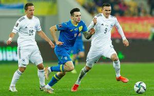Сборная Украины не удержала победу в матче с Боснией и Герцеговиной в отборе ЧМ-2022