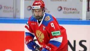Чибриков вошел в тройку самых молодых игроков сборной в истории отечественного хоккея