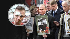 «Ненадо потом жаловаться, что завели дела запосты винтернете». Тарасов осудил осквернение «Бессмертного полка»