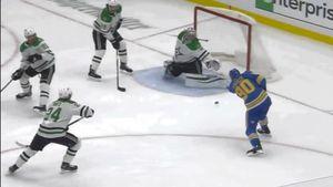 «Онпросто волшебен». Фантастическое спасение русского вратаря Худобина вигре счемпионом НХЛ