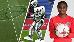 Лев «Зенита», робот Алеша, феерия футболистки «Енисея». Истории тура, которые вы не заметили