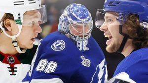 Капризов раскрыл карты, Василевский хочет играть с умом, Панарину поставили задачу. Как открылись лагеря НХЛ