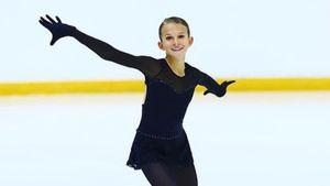 Говорившая про допинг в группе Тутберидзе Шаботова прыгнула триксель в Венгрии. Ей 14, но она выступает за Украину