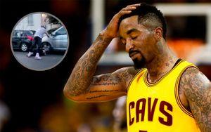 Чемпион НБА вовремя беспорядков вСША избил белокожего мужчину, разбившего окно вего машине