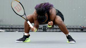Серена Уильямс с трудом обыграла 117-ю ракетку мира россиянку Гаспарян. После матча американка кричала от радости