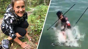 Юрлова-Перхт собирает грибы, Гигонна прыгнул в озеро на лыжероллерах: что нового у биатлонных топов