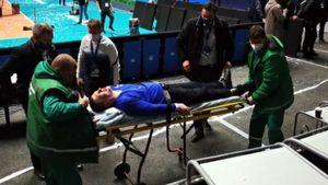 Фаната «Динамо» избили в Петербурге после финала Кубка ЕКВ. Так стюарды готовятся к футбольному Евро