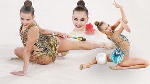 Опытные красавицы-гимнастки показали класс начинающим звездам. Так прошло первенство России: фото