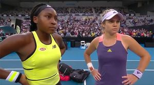 Американские теннисистки необычным танцем почтили память Коби Брайанта наAustralian Open