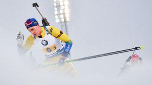 Понсилуома выиграл спринт на чемпионате мира по биатлону, Латыпов — 10-й, Логинов не попал в топ-20