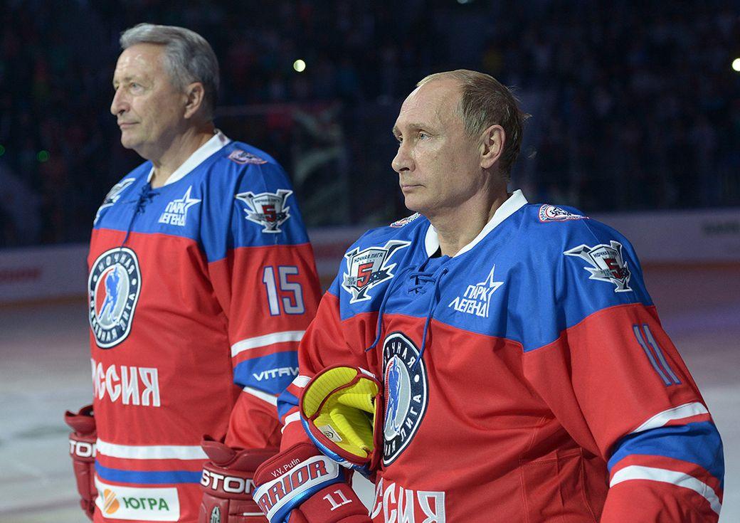 Александр Якушев и Владимир Путин