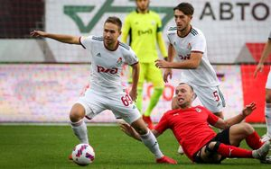 «Локомотив» сыграл вничью с «Химками», проведя почти тайм в меньшинстве после удаления Гильерме