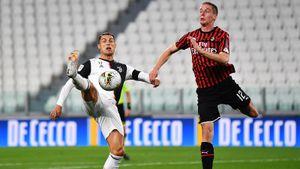 «Ювентус» не смог обыграть «Милан», но вышел в финал Кубка Италии. Роналду не реализовал пенальти