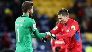 «Влашич сказал, что я герой? Отец тоже похвалил». Этот вратарь вытащил ЦСКА в 1/4 Кубка России