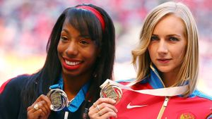Отобранное урусской прыгуньи ввысоту задопинг золото ЧМ-2013 отдадут американке