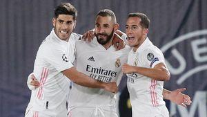 «Реал» оттолкнулся от дна, победив «Интер» в Лиге чемпионов. Не помешал даже космический ассист Бареллы