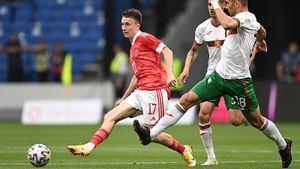 Сборная России скромно обыграла Болгарию в последнем контрольном матче перед Евро. Как это было