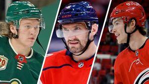 Овечкин и Капризов сорвали куш, остальным достались зарплаты поскромнее. Все русские контракты межсезонья НХЛ-2021