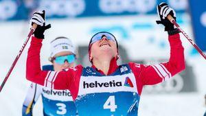Фантастический финиш гонки в Швеции: русская лыжница Ступак сделала сильнейшую на планете