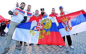 «Украина нас предала. Вы — нет». ЧМ снова объединил сербов и русских