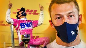Квят — 7-й в своей предпоследней гонке в Ф-1, а выиграл Перес, которого увольняют. Оба заслуживают сочувствия