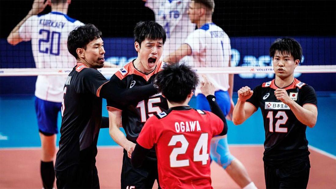Россия сенсационно проиграла Японии в Лиге наций. Это лишь третье поражение от азиатской сборной за всю историю