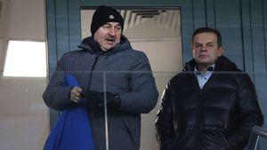 Фанаты ЦСКА оскорбляли главного тренера сборной России Черчесова во время матча Лиги Европы