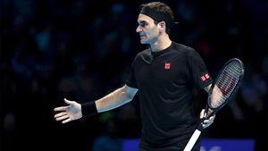 «Нечувствовал себя всвоей тарелке». Первый матч Федерера вЛондоне— мрак