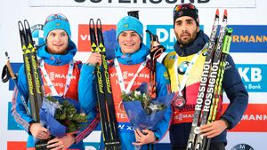 Как русские биатлонисты Бабиков и Цветков победили Фуркада на Кубке мира. Они отыграли больше минуты: Видео