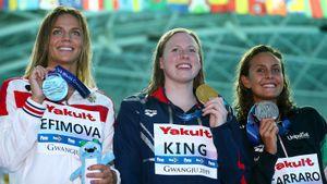 Ефимова проиграла первый финал на ЧМ рекордсменке мира из США. Американка Кинг выводила Юлю из себя