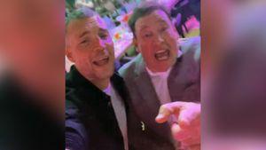 Дзюба и Слуцкий спели хит группы «Руки вверх!» «18 мне уже»: видео