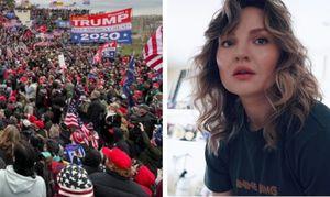 Жена хоккеиста Тихонова сравнила сегодняшний бунт в США с попыткой госпереворота в СССР