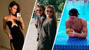 Жена Малкина выбирала платье, Панарин гулял с невестой, Свечников позировал с кокосом. Русские звезды НХЛ в отпуске