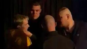 Скандально известный боец Дацик поучаствовал в драке на шоу. Он схватил человека за горло, приехала полиция: видео