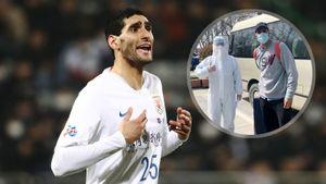 Футболисты против коронавируса: первые заражения в«Барсе» иРоссии, Феллайни вернулся вКитай больным