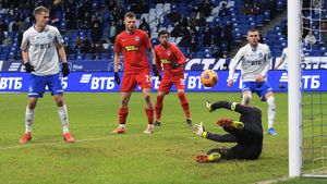 Голы Грулева и Моро принесли московскому «Динамо» победу над «Тамбовом»