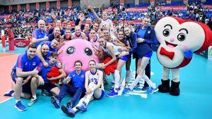 Россия за четыре партии обыграла чемпионок мира. Мы продолжаем погоню за Китаем и США на Кубке мира