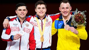 Никита Нагорный — лучший гимнаст мира прямо сейчас. Он взял три золота на ЧМ в Германии