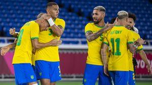 Бразилия обыграла Германию на Олимпиаде: у Ришарлисона хет-трик, Малком вышел на замену