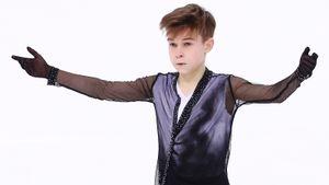 Ученик Тутберидзе в 14 лет стал двукратным чемпионом России среди юниоров. Даня Самсонов — красава
